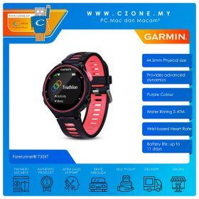 Garmin Forerunner 735XT 44mm GPS Running Watch With Multisport and Wrist-Based Heart Rate Smartwatch (Purple)