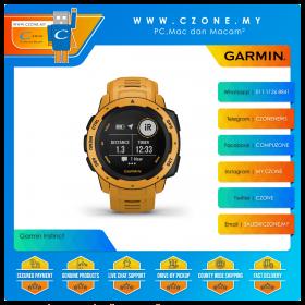 Garmin Instinct 45mm Rugged GPS Watch Built to Withstand the Toughest Environments Smartwatch (Sunburst)