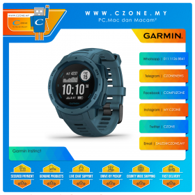 Garmin Instinct 45mm Rugged GPS Watch Built to Withstand the Toughest Environments Smartwatch (Lakeside)