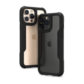 Patchworks Solid Case (iPhone 13 Pro Max, Black)