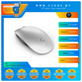 HP Spectre Bluetooth Mouse (Silver)