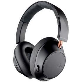 Plantronics Backbeat Go 810 Noise Cancelling Over-Ear Wireless Headphones (Graphite Black)