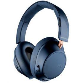 Plantronics Backbeat Go 810 Noise Cancelling Over-Ear Wireless Headphones (Navy Blue)