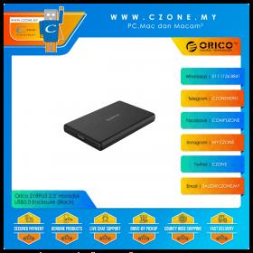 "Orico 2189U3 2.5"" Harddisk USB3.0 Enclosure (Black)"