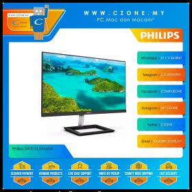 "Philips 241E1D Monitor (23.8"", 1920x1080, IPS, 75Hz, 4ms, D-Sub, DVI, HDMI, VESA)"