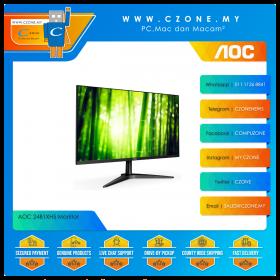 """AOC 24B1XH5 Monitor (23.8"""", 1920x1080, IPS, 75Hz, 8ms, D-Sub, HDMI, VESA)"""