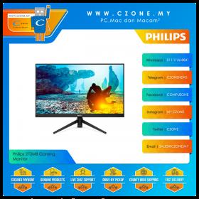 "Philips 272M8 Gaming Monitor (27"", 1920x1080, IPS, 144Hz, 1ms, D-Sub, HDMI, DP, VESA)"