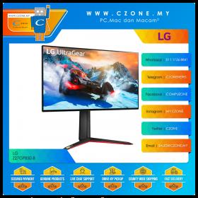 "LG 27GP850-B Gaming Monitor (27"", 2560x1440, Nano IPS, 165Hz, 1ms, HDMIx2, DP, VESA)"