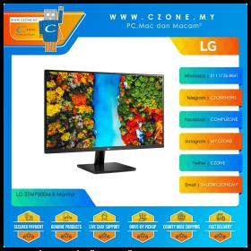 """LG 27MP500M-B Monitor (27"""", 1920x1080, IPS, 75Hz, 5ms, HDMIx2, VESA)"""