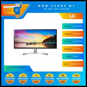 "LG 29WK600 Ultrawide Monitor (29"", 2560x1080, IPS, 75Hz, 5ms, HDMI, DP, Speakers, VESA)"