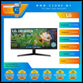 "LG 29WP60G-B Ultrawide Monitor (29"", 2560x1080, IPS, 75Hz, 1ms, HDMI, DP, VESA)"