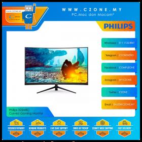 "Philips 325M8C Curved Gaming Monitor (31.5"", 1920x1080, VA, 144Hz, 41ms, HDMIx2, DP, VESA)"