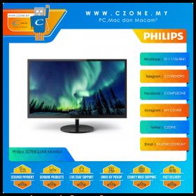 "Philips 327E8QJAB Monitor (31.5"", 1920x1080, IPS, 75Hz, 4ms, D-Sub, HDMI, DP, SPK, VESA)"
