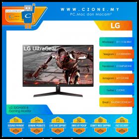 "LG 32GN500-B Gaming Monitor (31.5"", 1920x1080, VA, 165Hz, 5ms, HDMIx2, DP, VESA)"
