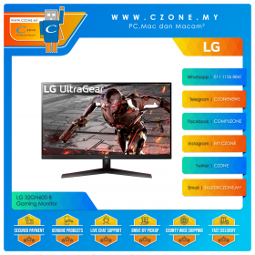 "LG 32GN600-B Gaming Monitor (31.5"", 2560x1440, VA, 165Hz, 1ms, HDMIx2, DP,  VESA)"