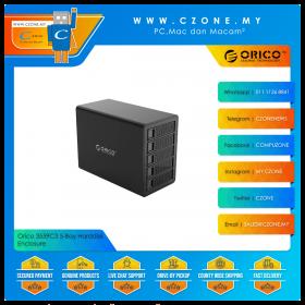 "Orico 3559C3 5-Bay Harddisk Enclosure (5-Bay 3.5"", USB 3.1 Gen2, Daisy Chain, Black)"