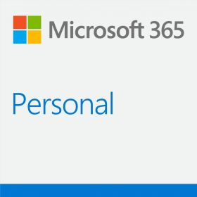 Microsoft Office 365 Personal 1 Person - For PC, Mac, iOS, and Android - 1 Year Subscription (Word, Excel, PowerPoint, Access for PC, Publisher for PC)