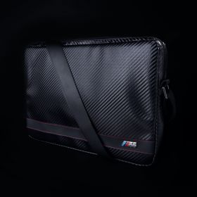 "Bmw M Sport Sleeve Carbon Effect Messenger Bag (Fits 13"" Laptop, Black)"
