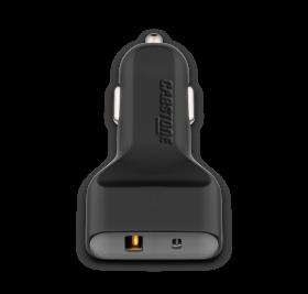 Cabstone Car Charger (1x USB QC 3.0, 1x USB-C, 6A)