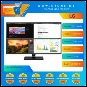 """LG 43UN700-B Monitor (43"""", 3840x2160, IPS, 60Hz, 8ms, HDMIx4, DP, USB-C, Speakers)"""