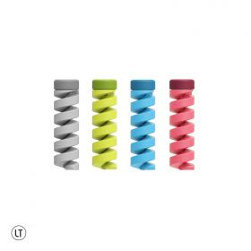 LeadTrend Twist Cable Protector (Pink, Black, White, Green)