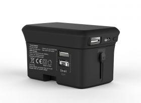 ION World Travel Dual USB Charger + 5,000mAh Power Bank