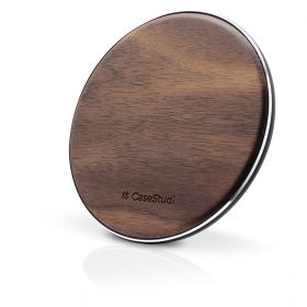 CaseStudi Walnut Qi Wireless Charger (10 Watts)