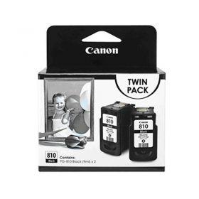 Canon PG-810 Twin Pack Ink Cartridge (Black, 9ml)