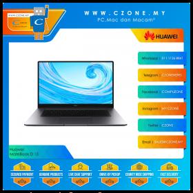 """Huawei MateBook D 15 53011USX Laptop - 15.6"""", i3-10110U, 2.1GHz, 8GB, 256GB SSD, UHD, Win 10 (Mystic Silver)"""