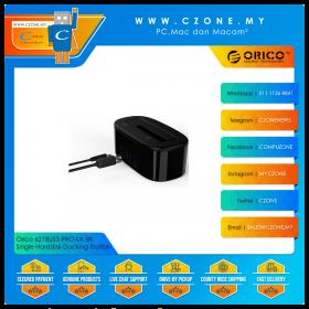 """Orico 6218US3-PRO-UK-BK Single Harddisk Docking Station (Single Dock 2.5""""/3.5"""", USB 3.0, Black)"""
