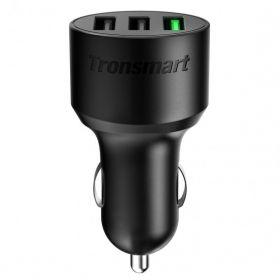Tronsmart C3PTA Car Charger (2x USB, 1x USB QC 3.0, 42 Watts)