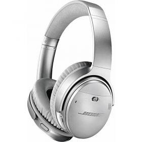 Bose QuietComfort 35 II Noise Cancelling Over-Ear Headphones (Silver)