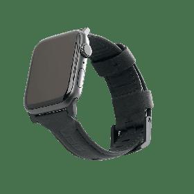 UAG Leather Strap (Apple Watch 44mm/42mm, Black)