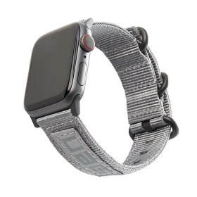 UAG Nato Strap (Apple Watch 44mm/42mm, Grey)