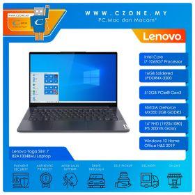 "Lenovo Yoga Slim 7 82A10048MJ Laptop - 14"", i7-1065G7, 1.3GHz, 16GB, 512GB SSD, MX350, Win 10, Office H&S (Slate Grey)"