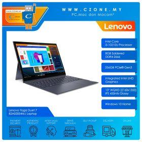 "Lenovo Yoga Duet 7 82AS0054MJ Laptop - 13"", i5-10210U, 1.6GHz, 8GB, 256GB SSD, UHD, Win 10 (Slate Grey)"