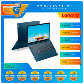 "Lenovo IdeaPad 5 82FE00D7MJ Laptop - 14"", i5-1135G7, 2.4GHz, 8GB, 512GB SSD, MX450, Win 10, Office H&S (Abyss Blue)"