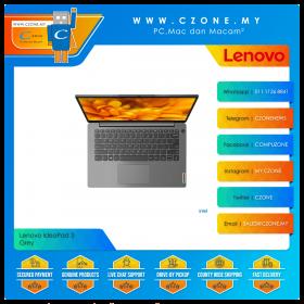 "Lenovo IdeaPad 3 82H700D8MJ Laptop - 14"", i3-1115G4, 3.0GHz, 4GB, 512GB SSD, UHD, Win 10, Office H&S (Arctic Grey)"