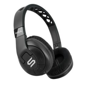 Soul X-TRA Over-Ear Wireless Sports Headphones (Black)