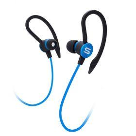 Soul Flex 2 In-Ear Wired Sports Headphones (Blue)