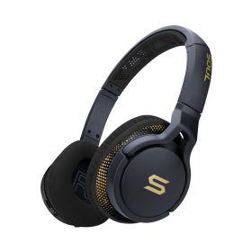 Soul Transform On-Ear Wireless Sports Headphones (Storm Black)