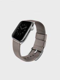 Uniq Mondain Genuine Leather Watch Band (Apple Watch 40mm, Sand Beige)
