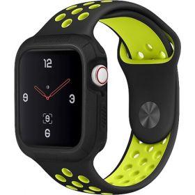 Uniq Proteger Watch Case (Apple Watch 40mm, Midnight Matte Black)