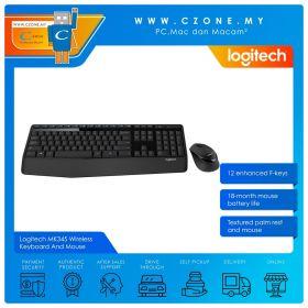 Logitech MK345 Wireless Keyboard And Mouse