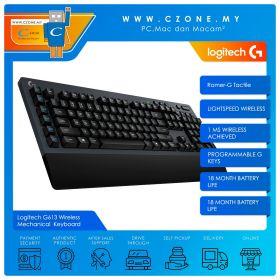 Logitech G613 Wireless Mechanical Gaming Keyboard (Romer-G Tactile)