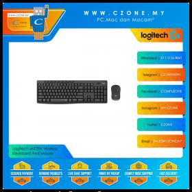 Logitech MK295 Wireless Keyboard And Mouse