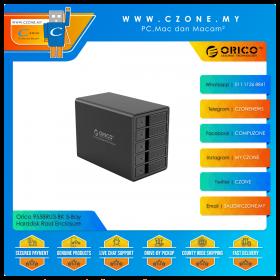 """Orico 9558RU3-BK 5-Bay Harddisk Raid Enclosure (5-Bay 3.5"""", USB 3.0, Raid 0, Raid 1, Raid 5, JBOD)"""