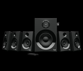 Logitech Z607 5.1 Surround Bluetooth Speaker System (Black)
