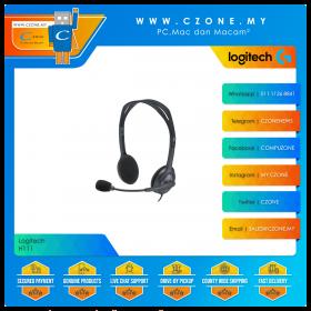 Logitech H111 On-Ear Wired Headset