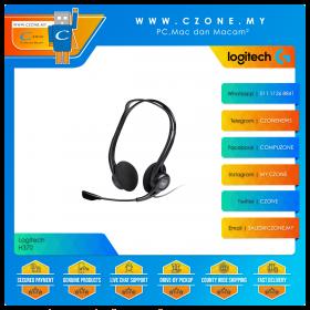 Logitech H370 USB On-Ear Wired Headset